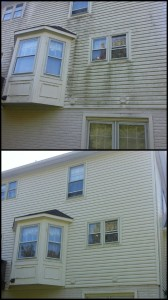 Scenic Valley Power Washing cleaning vinyl siding