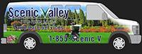 Scenic Valley Lawn Care Van