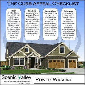 Roof, Windows, House Wash, Driveway Scenic Valley Power Washing adds Curb Appeal
